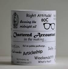 Charted Accountant Giftstation Ca In The Making Coffee Mug White