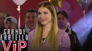 Grande Fratello VIP - Clizia Incorvaia: nuova concorrente della Casa