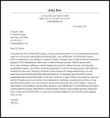 Supervisor Position Cover Letter Cover Letter For Management