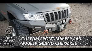Spiral Design Works Wj Ep 30 Wj Custom Front Bumper Design And Fabrication Wj Jeep Grand Cherokee