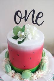 A Watermelon First Birthday Party With Cricut Jen T By Design