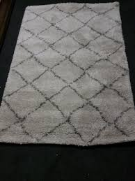 brand new large cream and grey rug rrp 55