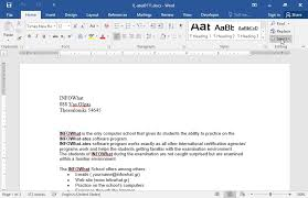 Change The Font Size To 12 Pt To The Whole Document