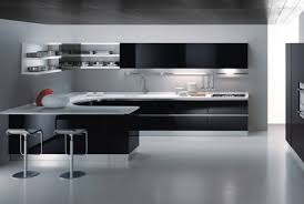 ... Black And White Kitchen For Modern Kitchen Design Chatodining With Kitchen  Design Black And White Pertaining