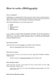 bibliography sample format bibliography books