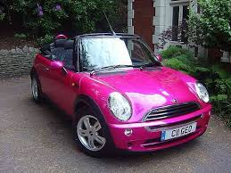 mini cooper convertible pink. pink mini cooper u003d nothing convertible k