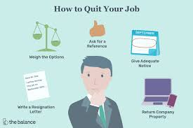 Good Reasons For Leaving A Job On An Application How To Quit Your Job Resigning Gracefully