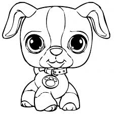 There are endless possibilities for coloring the fur! Puppy Coloring Pages Coloring Rocks