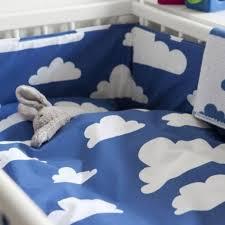 home children s bedding cot toddler duvet sets farg form blue cloud cotbed bedding set