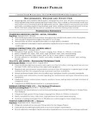 Pipefitter Resume Sample Inspiration Stewart Resume Prof