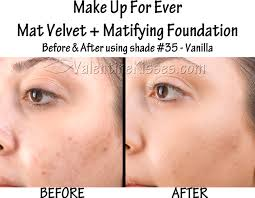make up for ever mat velvet matifying foundation