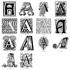 Decorative Letters Image Detail For Decorative Letters Click On Letter Of Your