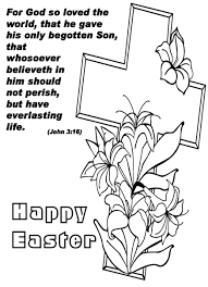 25 Religious Easter Coloring Pages Free Easter Activity Printables