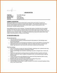 Cover Letter Office Manager Sop Proposal Front Desk Hotel Resume