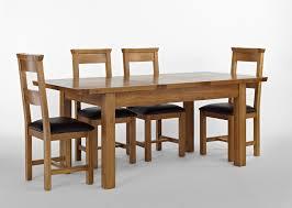 Knightsbridge Oak Extending Dining Table 4 Or 6 Knightsbridge