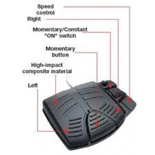 kota foot pedal corded suits minn kota riptide salt water power minn kota power drive foot pedal control board at Minn Kota V2 Foot Pedal Wiring Diagram