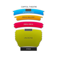 Capitol Theater Seating Chart Capitol Theatre Tickets