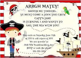 Pirate Party Invitation Wording Zoli Koze