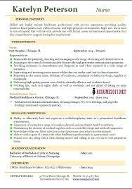 Nursing Resume Objective New Grad Nurse New Grad Nursing Resume