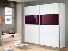 white sliding door wardrobes quartz sliding door wardrobe white and plum panel warehouse