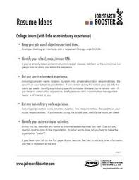 general job objective resume examples how to create an objective for a resume general winsome