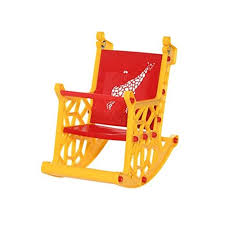 <b>Red And Yellow Supreme</b> Giraffe Baby Plastic Chair, Rs 975 /piece ...