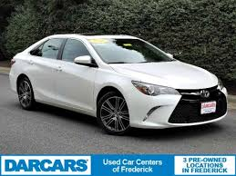 2016 camry special edition. Delighful Special Used 2016 Toyota Camry SE WSpecial Edition Pkg Sedan In Frederick On Special