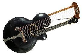 gibson history chasingguitars 1907 gibson harp guitar