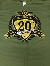 rs guitarworks rs guitarworks winchester ky rs guitarworks 20th anniversary t shirt