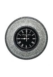 decorative wall clock decorative mosaic wall clock silent motion with embossed metallic glass mosaic large decorative wall clocks ireland