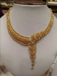 10 Tola Gold Necklace Designs Ali Baba Jeweller Gold Jewellery Design Gold Earrings Designs