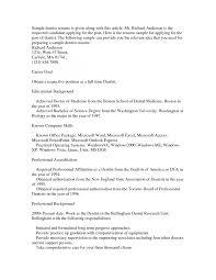 Generous Resume Employment Authorization Gallery Example Resume