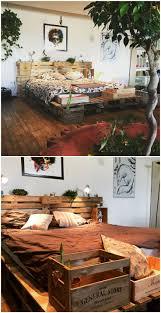 Pallet Bedroom 17 Best Ideas About Pallet Bed Frames On Pinterest Diy Pallet
