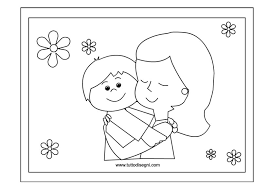 Disegno Festa Della Mamma Da Colorare Tuttodisegnicom
