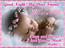 good night sleeping cute baby wallpaper