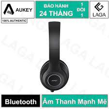 Tai Nghe Bluetooth Chụp Tai Aukey Driver Cỡ Lớn 40mm Tích Hợp Míc Đàm Thoại  Dễ Dàng Thu Gọn - EP-B52