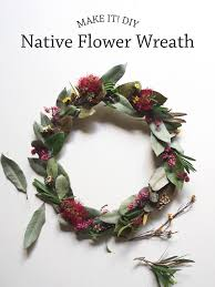 Christmas Paper Flower Wreath Make It Easy Peasy Diy Native Flower Wreath Paper And Pin