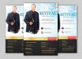 revival flyers templates church event flyer template inspiks market