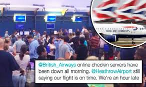 Image result for British Airways: turmoil continues after IT failure grounds flights