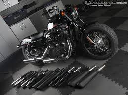 2012 harley davidson exhaust pipe shootout photos motorcycle usa