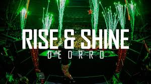 rise and shine lighting. brilliant shine deorro  rise u0026 shine official audio to and lighting