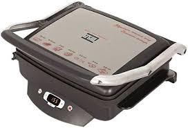 Купить <b>Электрогриль GFGRIL GF-100</b>, черный и серебристый в ...
