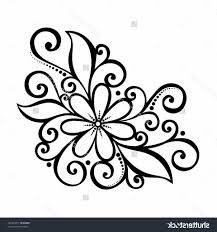 Flower Design Drawing Easy Flower Designs To Draw On Paper How To Draw Flower Designs