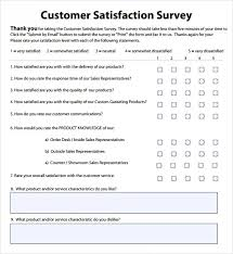 Customer Service Survey Template Free Customer Service Survey Template Free Unique Design Customer Service