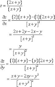 Rules Of Calculus Multivariate