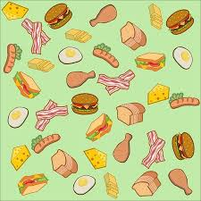 cartoon bread wallpaper. Beautiful Wallpaper American Food And Breakfast In Cartoon Style For Background Or Wallpaper  Group Of Fried Egg And Cartoon Bread Wallpaper A