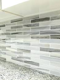 white kitchen cabinets with glass tile backsplash gray kitchen tile tile modern white gray subway marble