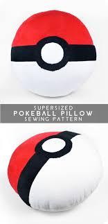 Pillow Sewing Patterns New Free Pattern Friday Supersized Pokeball Pillow Choly Knight