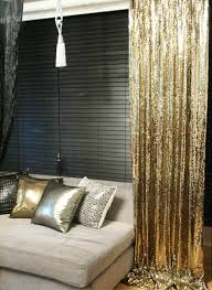 order to made gold sequins beaded curtains dry panel roon divider perfect for living room