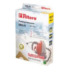 <b>Пылесборник FILTERO</b> ЭКСТРА <b>UNS 01</b> (3 шт.) — купить в ...